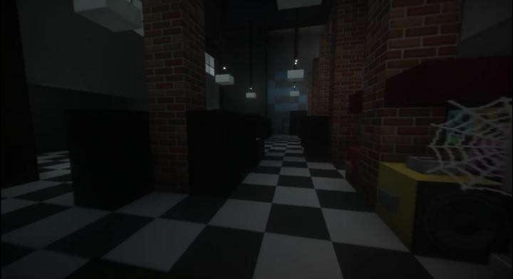 Inside Flynns Arcade