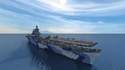 USS Enterprise CV-6 - Yorktown-class [1:1 scale] Minecraft