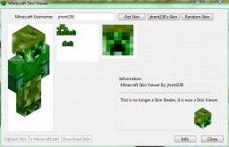 Minecraft Skin Viewer Minecraft Mod