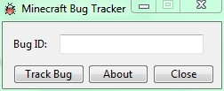 Minecraft Bug Tracker Tool Minecraft Mod