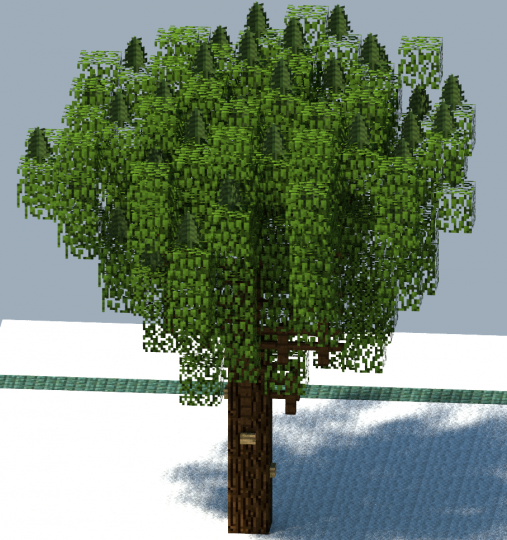 Render, pinus pinea, photo can be found in comments