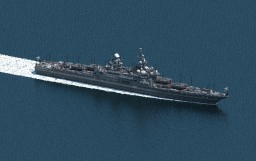[AU] Hiei Class Heavy Strike Cruiser Minecraft Map & Project