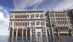 Venice styled house Casa d Oro Minecraft Project