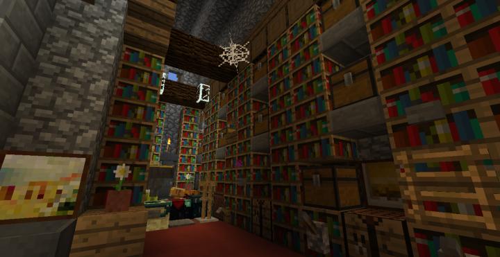 Inside of Alexs Cottage