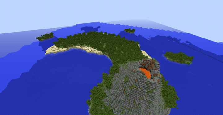 Tropical Island- (World Painter, Survival) Minecraft Project on palm island map, sea island map, large island map, orange island map, fruit island map, tropical home, strawberry island map, peter island map, hawaiian islands map, sand island map, tropical islands germany, rugen island germany map, tropical resorts, caribbean map, tropical islands to visit, water island map, sunset island map, tropical islands around the world, tropical weddings, island nation map,