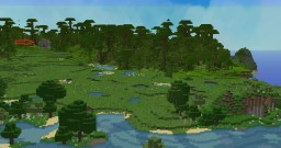 Jungle with temple/village >:D....NICE Minecraft Project