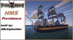 HMS Providence (Pirates of the carribean) Minecraft Map & Project