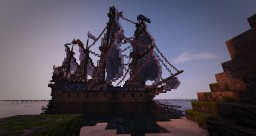 16th century french galleon ~Espérance de dieu~ full interior build Minecraft Map & Project