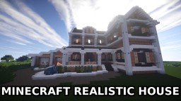 Minecraft: REALISTIC HOUSE Minecraft Project