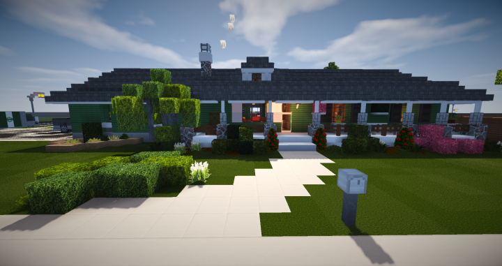 Ranch Style House Minecraft Map