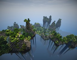 Flying Island by LeOssi Minecraft Project
