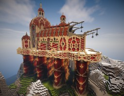 Fantasy-Cathedral by LeOssi Minecraft Project