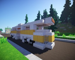 Fallout: Pre-War Bus Minecraft Project