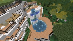 Rich man mansion Minecraft Map & Project