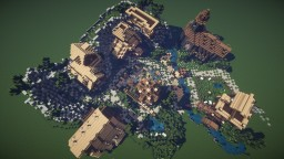 Small Mountain Village Minecraft Map & Project