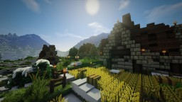 A Nordic Mountain Village! Minecraft Map & Project