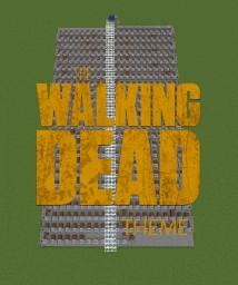 The walking dead theme in minecraft | by kas_treknetten Minecraft Map & Project