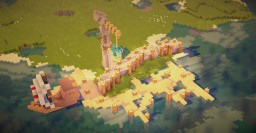 Medieval Dock Minecraft Map & Project