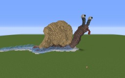 Funny Snail Minecraft Map & Project