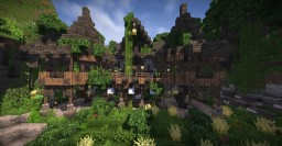 Cliff-side Lodge Minecraft