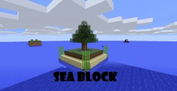 Sea Block by Androo Minecraft Map & Project
