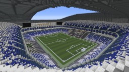 Estadio BBVA Bancomer (CF Monterrey) Minecraft Map & Project