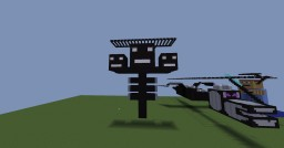 Burning Ender Dragon, Wither, Steve , And White Pumpkin! Minecraft