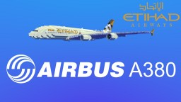 Airbus A380-800 Etihad Airways Minecraft Map & Project
