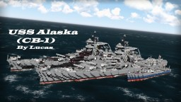 USS Alaska (CB-1) 1:1 - By Lucas - ShipSide Minecraft Map & Project