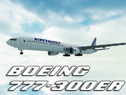 Air France Boeing 777-300ER | +Download Minecraft Map & Project