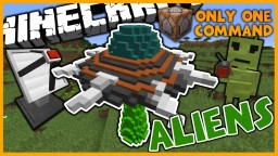 Aliens in One Command | Ray Guns, UFOs, and More! Minecraft Map & Project
