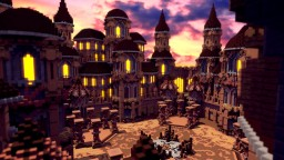 SunFall - Server Spawn Minecraft Map & Project