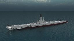 USS Submarine Archerfish Minecraft Map & Project