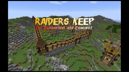 Raiders Keep - Barbarians are coming Minecraft Map & Project