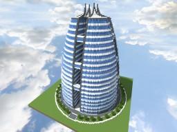 Quartz Tower #1 Minecraft Map & Project