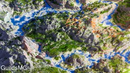 Download | Rainbow Mountains | Survival Ready Minecraft Project
