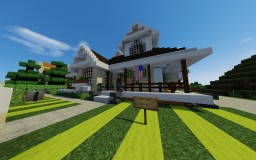 Small suburban american style house for sale! My first one! Minecraft Map & Project