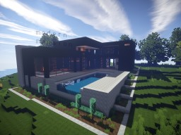 A Modern Mansion Minecraft Map & Project