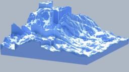 Cracked Ice (3D Art) Minecraft