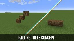 Vanilla Falling Trees Concept Minecraft Map & Project