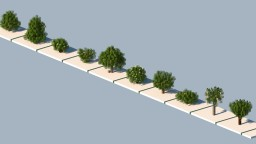 First 10 Trees of Spanish Section of the Repository
