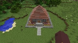 Cool House Minecraft Map & Project