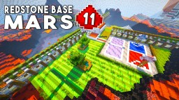 REDSTONE MARS BASE EP11 Download (Version 0.2) Minecraft Project