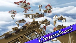 Logota Airships Bundle | 7 Airships | Map Included Minecraft Project