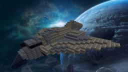 UNSC Longsword [1.8x+] [Interior] Minecraft Map & Project