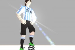 Lionel Messi [First Realistic Attempt] Minecraft