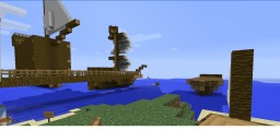 Galleon ship island Minecraft Project