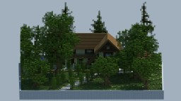 Modern Rustic House. [Realistic] [Download] Minecraft Map & Project