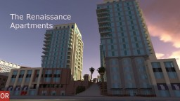 The Renaissance Apartments - Santa Clara - OR Minecraft Project