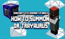 MC 1.9 Repeating Command Blocks: Summon a Dr.Trayaurus NPC Minecraft Blog